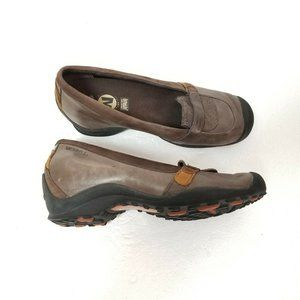 Merrell Edon Moc Multi Brown Leather Loafers 7